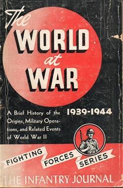 Grote foto the world at war the infantry journal 1945 boeken oorlog en militair