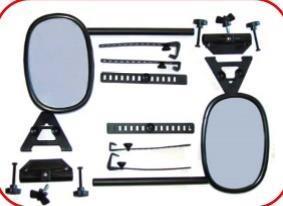 Grote foto caravanspiegel onderdelen special mirror caravans en kamperen caravan accessoires
