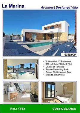 Grote foto moderne villa in la marina costa blanca zuid huizen en kamers bestaand europa