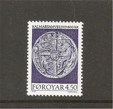 Grote foto kalmar unie foroyar postzegels en munten scandinavi