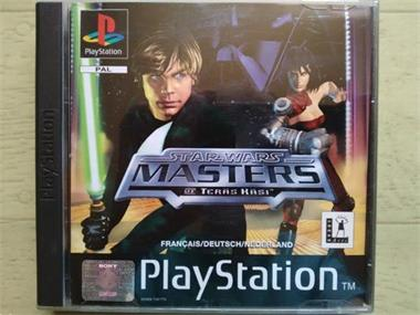 Grote foto ps1 star wars masters of teras kasi spelcomputers games playstation