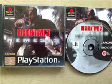 Grote foto ps1 resident evil 3 nemesis spelcomputers games playstation