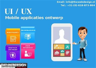 Grote foto het verstrekken van ux ui design services computers en software grafisch foto en film