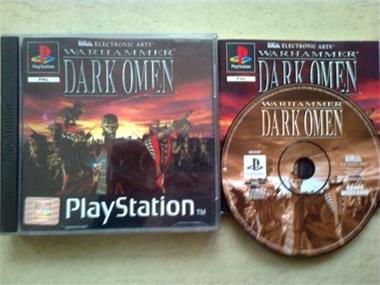 Grote foto ps1 warhammer dark omen spelcomputers games playstation