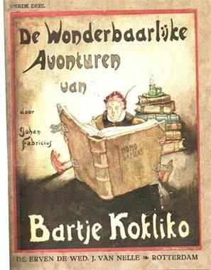 Grote foto de wonderbaarlijke avonturen van bartje kokliko verzamelen boeken en tijdschriften