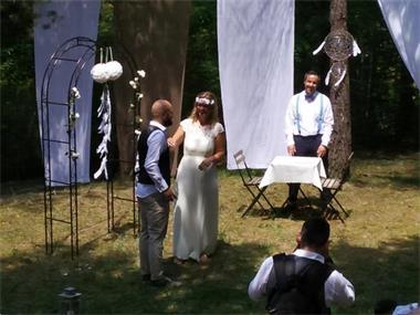 Grote foto italiaanse bruiloft diensten en vakmensen trouwen