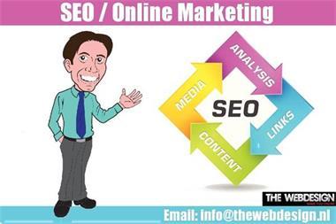 Grote foto seo online marketing service provider diensten en vakmensen algemeen