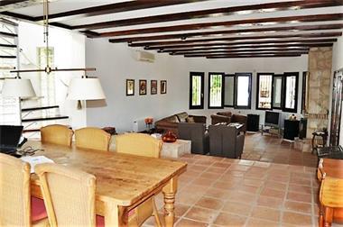 Grote foto nice traditional spanish villa in a quiet area. huizen en kamers bestaand europa