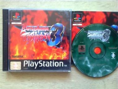 Grote foto ps1 battle arena toshinden 3 spelcomputers games playstation
