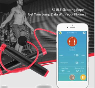 Grote foto bluetooth jump rope speed springtouw sport en fitness fitness