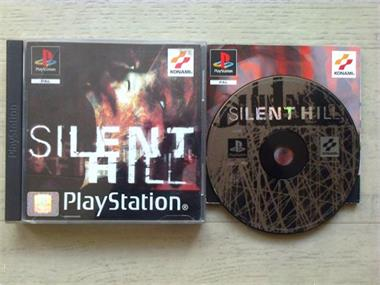 Grote foto ps1 silent hill spelcomputers games playstation