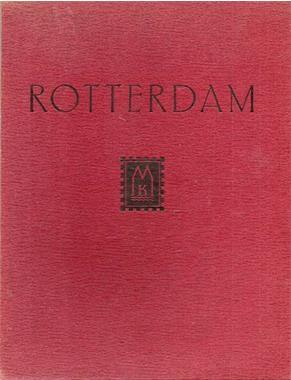 Grote foto rotterdam b.stroman en m.j. brusse 1941 boeken geschiedenis regio