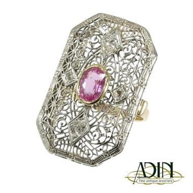 Grote foto antieke edwardiaanse verlovingsring sieraden tassen en uiterlijk ringen voor haar
