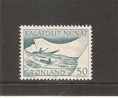 Grote foto postbezorging groenland postzegels en munten scandinavi