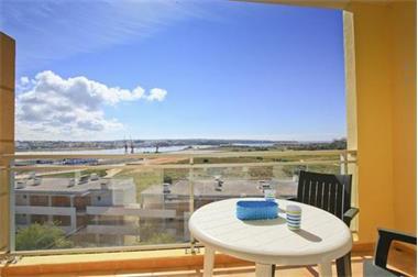 Grote foto algarve top floor appt. met zeezicht en pool vakantie portugal