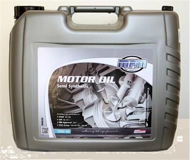 Grote foto mpm 10w40 semi synthetic motorolie auto onderdelen motor en toebehoren