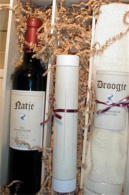 Grote foto wijncadeau voor een natje en een droogje diversen cadeautjes en bonnen