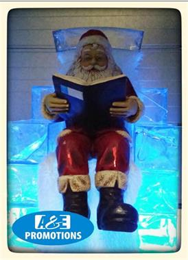 Grote foto kerstman opblaasbaar huren rendieren brabant diensten en vakmensen entertainment