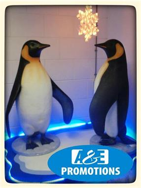 Grote foto winter entertainment verhuur pinguins brabant diversen overige
