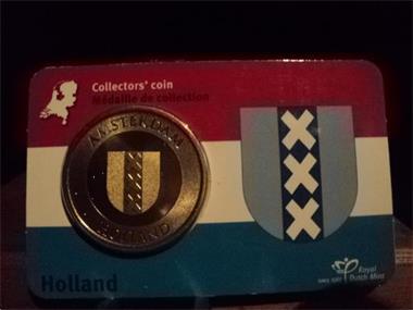 Grote foto holland collectors coincards postzegels en munten niet euromunten