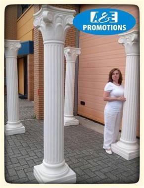 Grote foto griekse pilaren verhuur amsterdam utrecht diensten en vakmensen algemeen