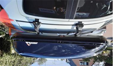 Grote foto bagagebox skibox dakkoffer sx1 450ltr 170cm auto onderdelen dakdragers en skiboxen