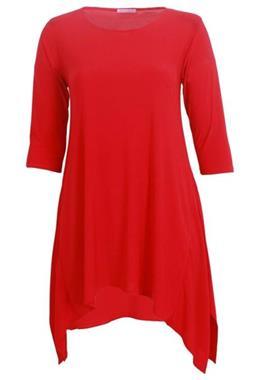 Grote foto dames grote maten tuniek c01 solid winter kleding dames blouses