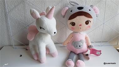 Grote foto unicorn met naam kinderen en baby kraamcadeaus en geboorteborden