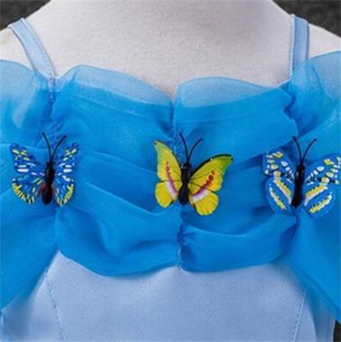 Grote foto prinsessen jurk vlinder 3 actie kleding dames verkleedkleding