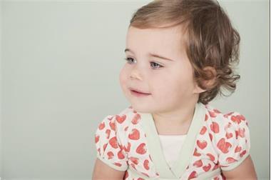Grote foto ducky beau jurkje aardbei actie kinderen en baby overige