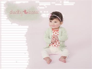 Grote foto ducky beau legging wit actie kinderen en baby overige