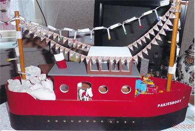 Grote foto sinterklaasboot diversen sinterklaas
