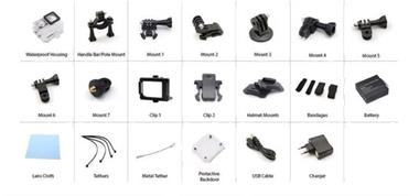 Grote foto ultra hd 4k action cam go pro sj9000 altern. actie camera audio tv en foto algemeen