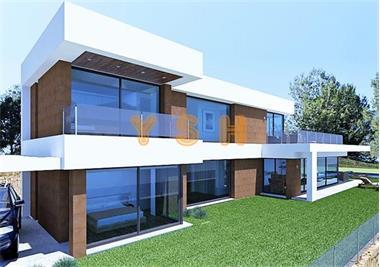 Grote foto new design villa views mountain and valley. huizen en kamers nieuw europa