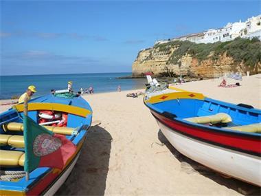 Grote foto algarve twee naastgel. 2 slk. appts. vakantie portugal