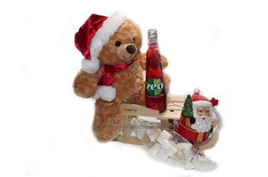 Grote foto kinder kerstpakket met naam diversen kerst