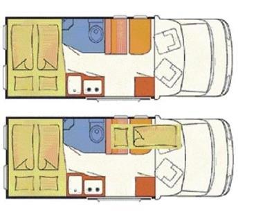 Grote foto buscampers met vast bed 2 3 persoons caravans en kamperen overige caravans en kamperen