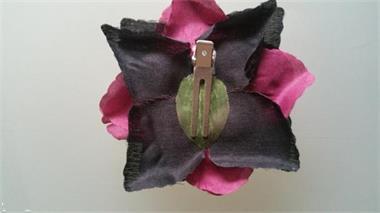 Grote foto lila jo flat rose burgundy and black. kleding dames sieraden