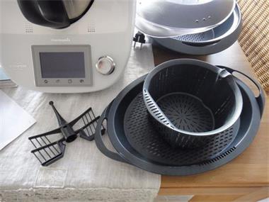 Grote foto thermomix tm 5 geleverd met al deze toebehoren witgoed en apparatuur keukenmachines