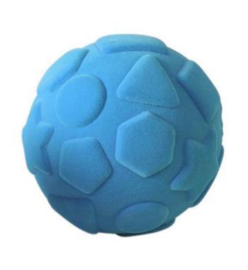 Grote foto rubbabu shapes ball turquoise 10cm kinderen en baby overige