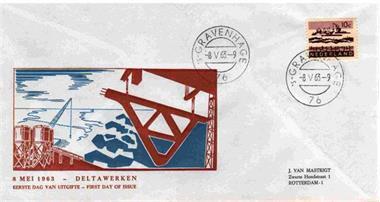 Grote foto fdc 19651210 300 jaar korps mariniers postzegels en munten eerstedagenveloppen