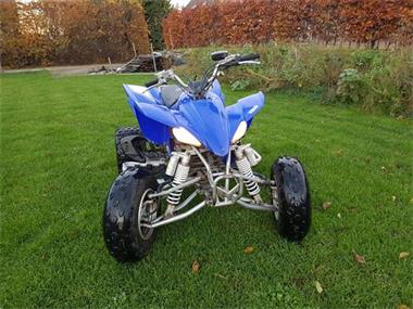 Grote foto quad blauw 450cc yamaha motoren yamaha