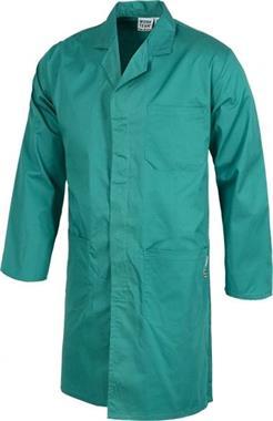 Grote foto stofjas groen kleding dames overige kledingstukken