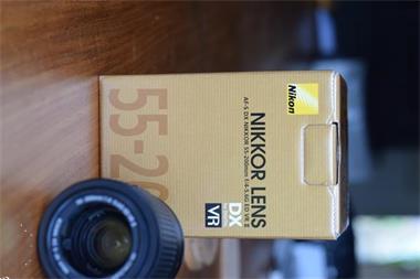 Grote foto nikon af s dx nikkor 55 200 mm f 4.5 5.6 g ed vrii audio tv en foto lenzen en objectieven
