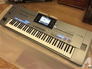 Grote foto yamaha tyros 5 keyboard synthesizer muziek en instrumenten keyboards