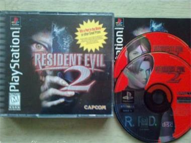 Grote foto ps1 resident evil 2 ntsc spelcomputers games playstation