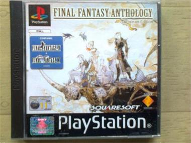 Grote foto ps1 rpg final fantasy anthology spelcomputers games playstation