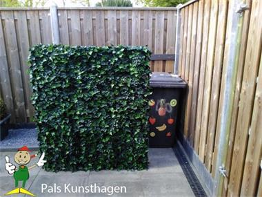 Grote foto kunsthaag afsluiting tuinscherm balkonscherm tuin en terras hekken en schuttingen