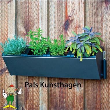 Grote foto groene muur verticale tuin plantenbak tuin en terras tuindecoratie