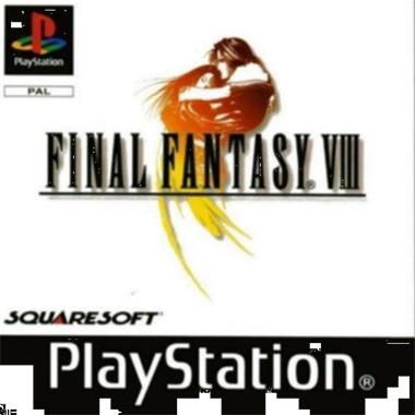 Grote foto ps1 rpg final fantasy viii 8 geseald spelcomputers games playstation